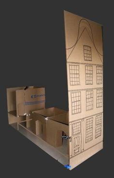 A Beautiful World: Roomboxes Dolls House - mock up
