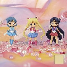 ,(Bishojo Senshi) Sailor Moon Crystal Atsumete for Girls1[set of 3],Collectible  listed at CDJapan! Get it delivered safely by SAL, EMS, FedEx and save with CDJapan Rewards!