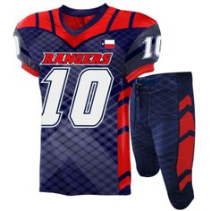 1ed9e0bfb Elite sublimated football uniform Football Uniforms