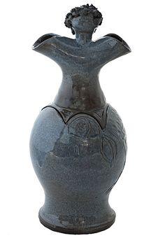 Keramische Vaas Urn (2.0 liter). AANBIEDING: nu 45% korting