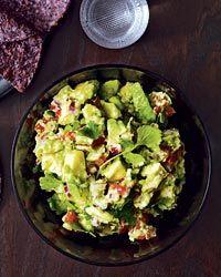 Chunky Guacamole Recipe on Food & Wine