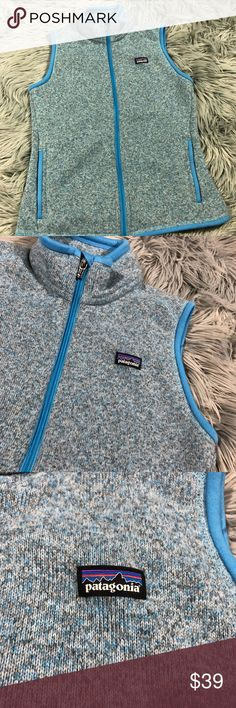 Patagonia Better Sweater Fleece Vest Blue Gently used without flaws  Smoke free home  Armpit to armpit: 17 in  Top of shoulder to bottom hem: 24 in Patagonia Jackets & Coats Vests