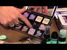 New Distress Ink Colors from Tim Holtz - CHA 2015 Video
