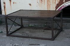 Handmade Furniture Coffee table, modern/ industrial, reclaimed wood, minimalist, urban -- You can find out more details at the link of the image.
