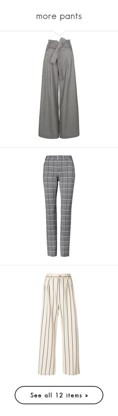 """more pants"" by lustydame ❤ liked on Polyvore featuring pants, black, checked trousers, checkered pants, wool pants, checked pants, wool trousers, super skinny pants, skinny fit trousers and plaid skinny pants"