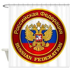 Russia COA Shower Curtain