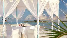 Dining on the beach at Anantara Dhigu Maldives  #voyagewave #themaldives --->>> www.voyagewave.com