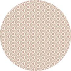 Art Gallery Stof med Ovale Prikker, Oval Elements, pudder ,  pr. 0,25 m