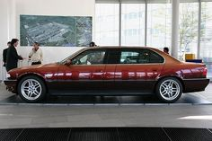 BMW 7-Series Long E38 от модельера Карла Лагерфельда (12 фото)