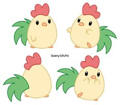 Chibi Rooster by Daieny.deviantart.com on @DeviantArt
