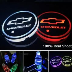 Led Car Logo Cup Lights up Holder--USB Charging 7 Colors Changing — InnovDeals Logo Led, Kangoo Camper, Lead Change, Cup Logo, Bmw Autos, Cup Coaster, Accessoires Iphone, Pt Cruiser, Car Gadgets