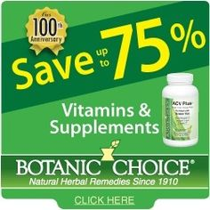 Botanic Choice - Health Store. Save up to 75% on products.