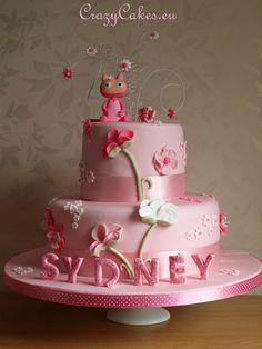 christening cakes for girls   Christening Cake for Sydney   Flickr - Photo Sharing!