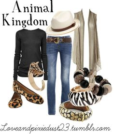Animal Kingdom by loveandpixiedust featuring straight jeans