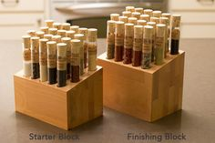 Spiceologist Project by Pete Taylor: another use for some of my hundreds of test tubes!