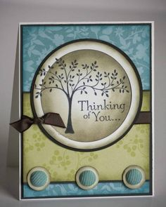 MOJO69 - Thinking of You by l_burkitt - Cards and Paper Crafts at Splitcoaststampers