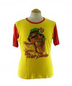 """Old Sinner 70s T shirt #70sshirts #vintagefashion #vintage #retro #vintageclothing #70s #1970s #vintagetshirts <link rel=""""canonical"""" href=""""http://www.blue17.co.uk/>"""