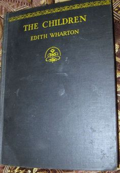 (1928)~1st-The Children~Edith Wharton~with the 2 Misprints~First Edition HB