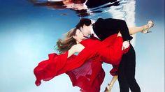 Amor bajo el agua: las alucinantes fotos submarinas de parejas