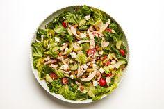 Chopped Dinner Salad with Crispy Chickpeas