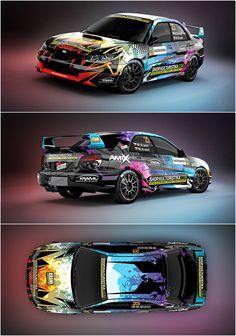 Design for Kraml Racing team and their Subaru Impreza N12