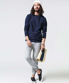 Trousers, Normcore, Mens Fashion, Lifestyle, Sweatshirts, Men's Style, Moda Masculina, Men's, Trouser Pants