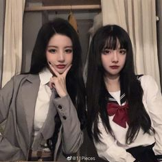 Ulzzang Korean Girl, Uzzlang Girl, Short Hair With Layers, Kids Icon, China Girl, Stage Outfits, Besties, Short Hair Styles, Cosplay