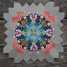 Millefiori Quilts, English Paper Piecing, Hand Stitching, Quilt Blocks, Quilt Patterns, Hand Sewing, Quilting, Oct 1, Hexagons