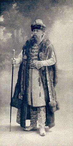 Prince Prozorovsky-Galitzine, Maitre des Ceremonies (Boyard; epoque du Tsar Alexis Mikhailovitch)....003 by klimbims on deviantART