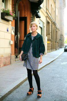 On The Street…..Black, White & Green, Stockholm « The Sartorialist