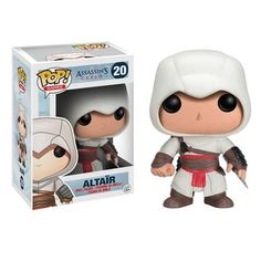 Assassin's Creed comes to you in Pop! The Assassin's Creed Ezio Pop! Vinyl Figure features the video game protagonist as a stylized vinyl figure measuring 3 tall. Collect all of the Assassin's Creed Funko Pop! Ages 15 and up. Pop Vinyl Figures, Pop Action Figures, Funko Pop Figures, Game Assassins Creed, Assesin Creed, Figurines D'action, Dreamworks, Supernatural, Toys