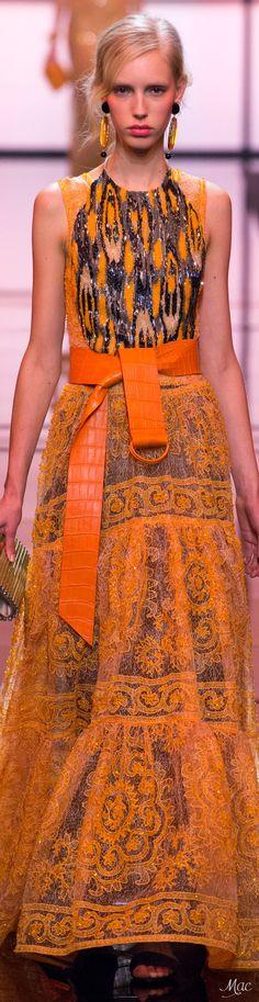 Shop Armani at Harrods and earn Rewards points, in-store and online. Armani Collection, Orange Fashion, Armani Prive, Emporio Armani, Giorgio Armani, Italian Fashion, Fashion 2017, Peplum Dress, Fashion Beauty
