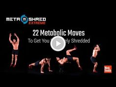 22 Metabolic Moves to Get You Extremely Shredded