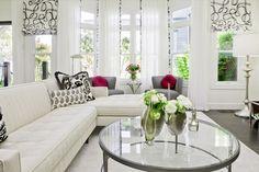 Fashionably Elegant Living Room Ideas... Beatiful!