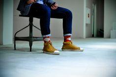 Day Socks Red and White @joeblacksocks  http://www.blacksocks.com/en-us