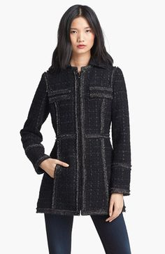 Laundry by Shelli Segal Bouclé Jacket (Regular & Petite) available at #Nordstrom