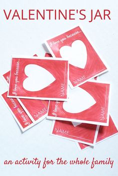 This Valentine activity is PERFECT to do with a group at home with your family or within a classroom setting. FREE Printable included in the post!!