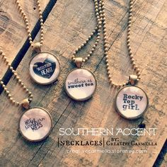 Southern Accent ~ necklace from Creative Carmella