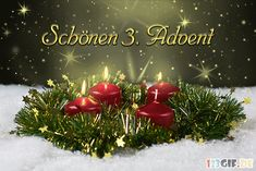 Beautiful 3 Advent pictures # # Informations About schönen 3 advent bilder - Gb Bilder Christmas Wreaths, Christmas Decorations, Christmas Tree, Christmas Ornaments, Holiday Decor, Anime Fr, 1 Advent, Advent 2016, Winter Illustration