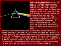 The Dark Side of the Moon  is a concept album by Pink Floyd. It was released on 17 March 1973 in the United States and 24 ...