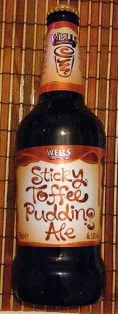FOODSTUFF FINDS: Sticky Toffee Pudding Ale (Ocado) [By @SpectreUK]