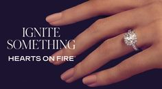 Shop online for Hearts on Fire diamonds at Beaverbrooks. An official stockist, browse our selection of perfectly cut diamonds today. Beaverbrooks, Fire Heart, Months In A Year, Diamond Cuts, Diamonds, Hearts, Engagement Rings, Crystals, Jewelry