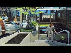 Cryonaut - Halcyon [Syd Mead tribute video] - YouTube Syd Mead, Futuristic, Art Reference, Aquarium, Sci Fi, Artwork, Paintings, Artists, Popular