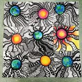 New favorite because there are lots of possibilities! Earth, sun, or color fun! 6th Grade Art, Ecole Art, Art Lessons Elementary, Op Art Lessons, Elements Of Art, Art Lesson Plans, Art Classroom, Art Activities, Teaching Art