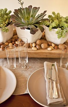 Al naturale table setting#Repin By:Pinterest++ for iPad#