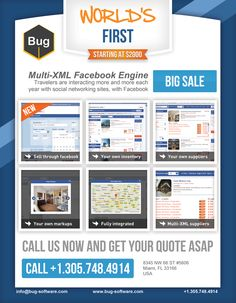 First Multi-XML Facebook Travel Agent Booking application launched