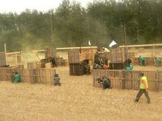Paintball course
