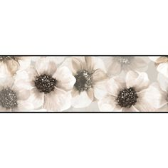 """You'll love the Border Portfolio II Marguerite 15' x 9"""" Floral & Botanical Border Wallpaper at Wayfair - Great Deals on all Décor  products with Free Shipping on most stuff, even the big stuff."""