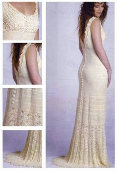 crochelinhasagulhas: Vestido de noiva I