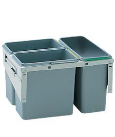 undersink sorting bins.